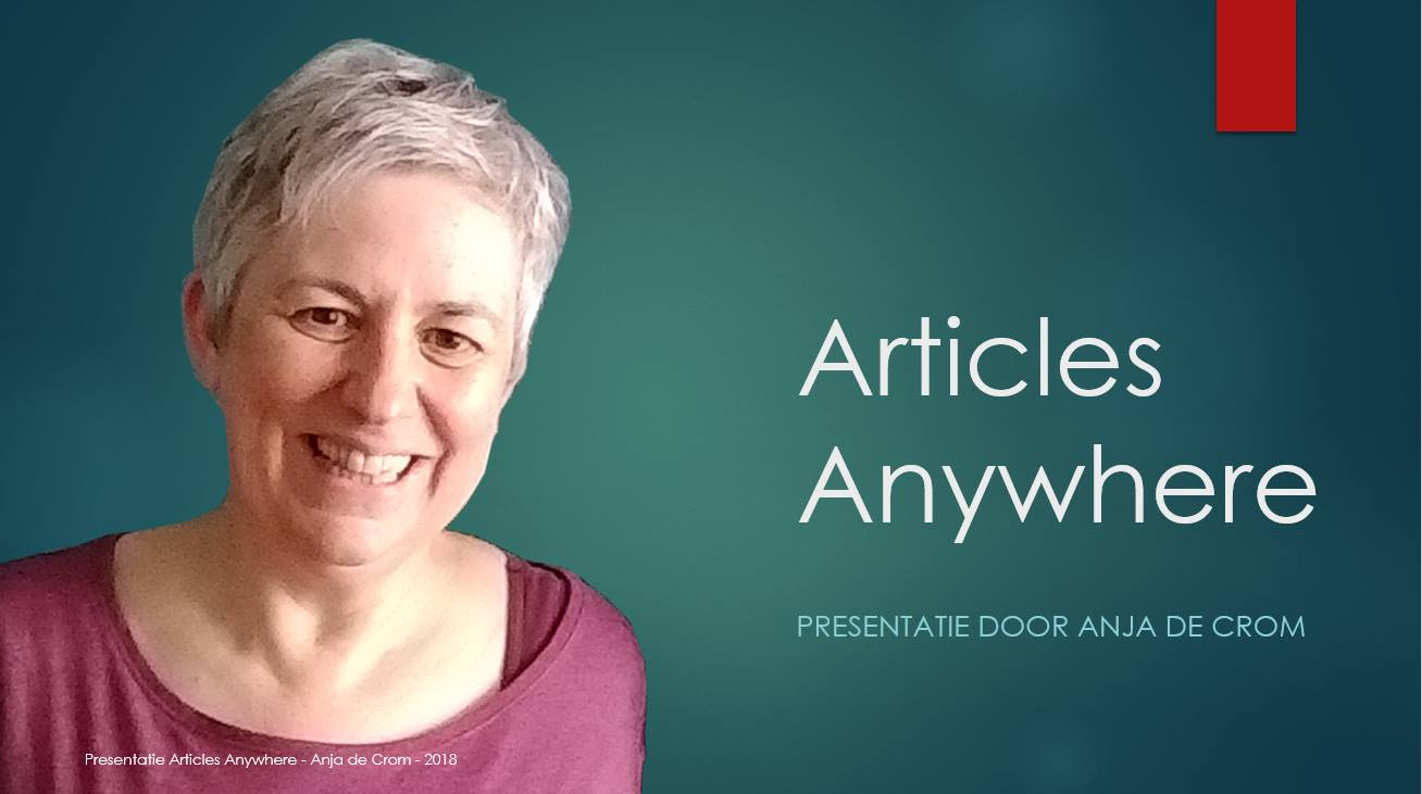Anja Articles Anywhere