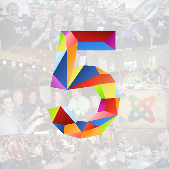 JoomlaCommunity.eu bestaat vijf jaar!