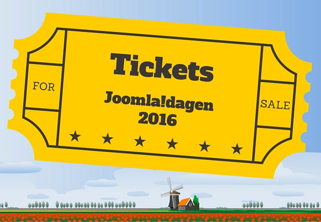 Tickets Joomla!dagen 2016