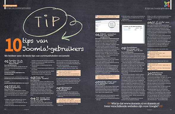 10 tips van Joomla!-gebruikers