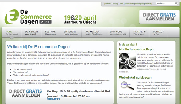 E-commerce Dagen