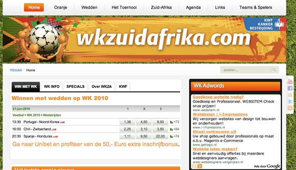 WKzuidafrika.com