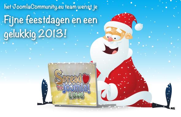 Fijne feestdagen en een gelukkig 2013!