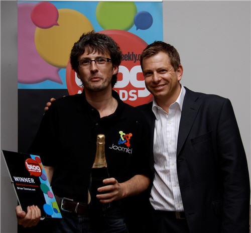 Brian Teeman Open source in business blog of the year