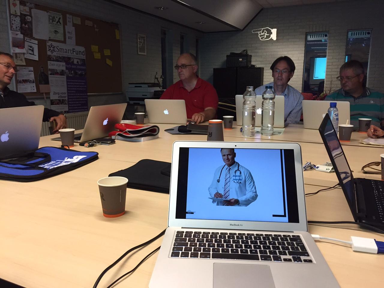 Dokter Joomla! bij JUG Utrecht op 10 augustus 2015