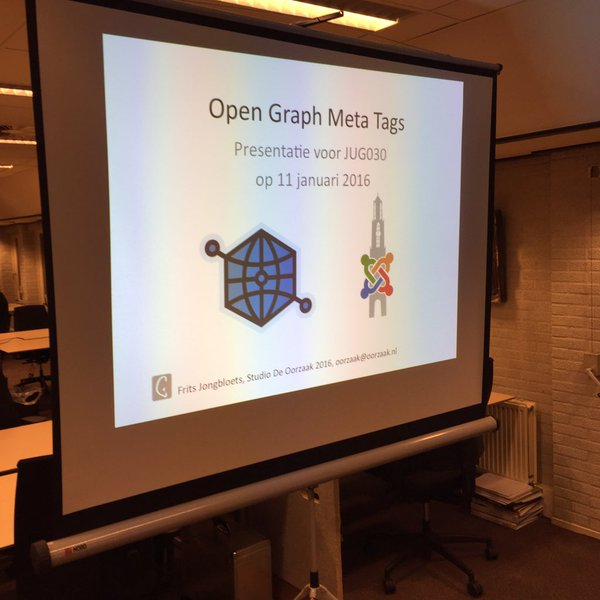 Presentatie Facebook Open Graph meta tags