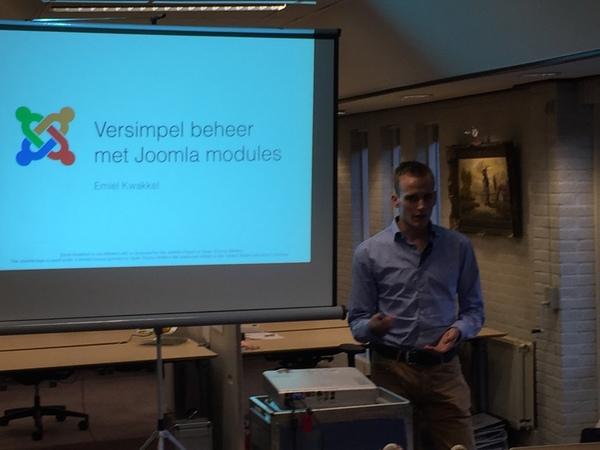 Emiel Kwakkel presenteert 'Zelf modules maken'
