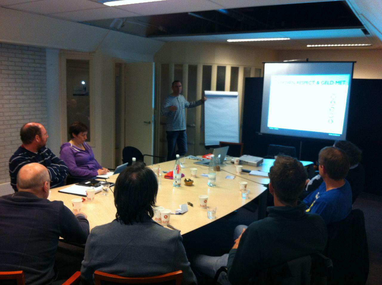 Workshop 'Het Nieuwe Verdienen' bij JUG Utrecht