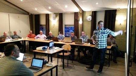Rick test zijn Joomladagen presentatie bij JUG Breda
