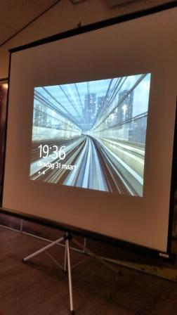 Dankzij Jeroen Meijers een enorm scherm